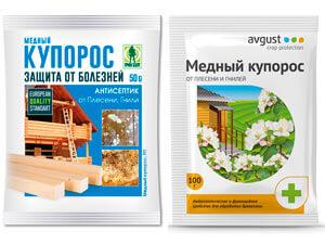 Медный купорос для лечения грибковых заболеваний растений